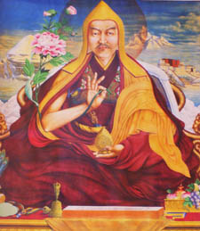 5thDalaiLama ngawang lobsang gyatso