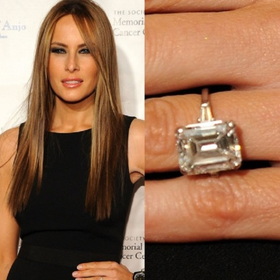 Melania-Knauss's-engagement-ring