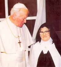 Jean-Paul-II_Soeur-Lucie