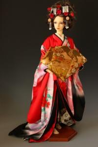Oiran kimono