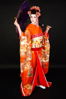 Maiko kimono