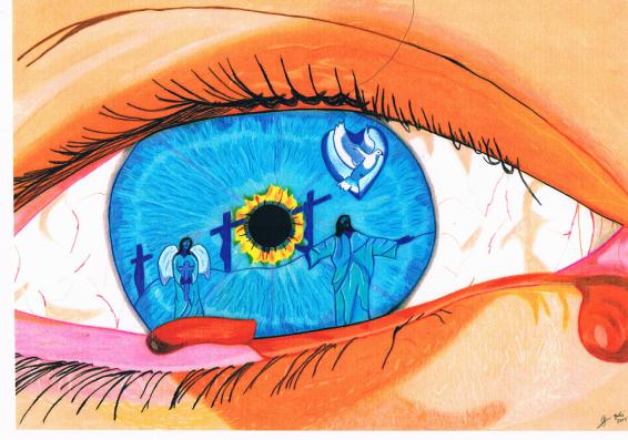 Het wenende oog van Maria