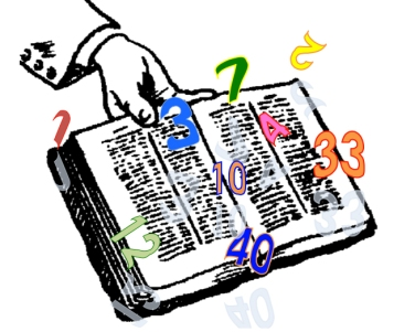 bible and numbers