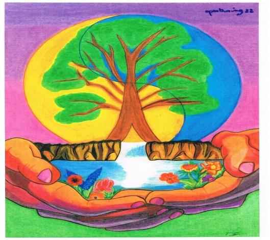 Openbaring hoofdstuk 22: eeuwig leven gevend water door de morgenster