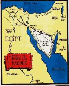 Exodus van de Israëlieten uit Egypte