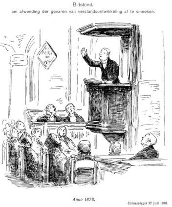 bidstond prent van de 19 e eeuw