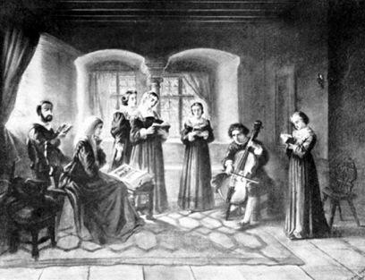 huisgodsdienst ten tijde van de reformatie