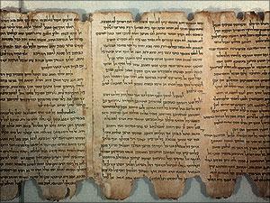 oude Bijbelse geschriften, de dode zee-rollen