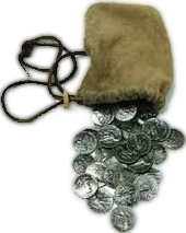Judas' verraad voor 30 zilverstukken