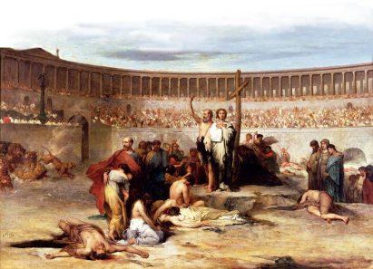Christenvervolgingen in de arena