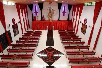 de aanbidding van Satan