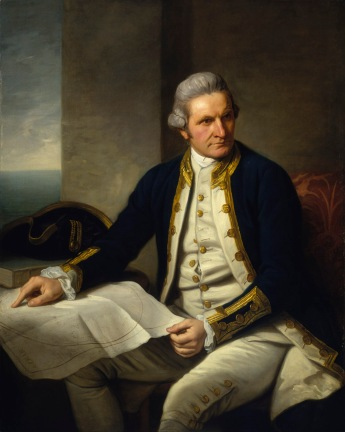 Captain James Cook(1728-1779). Nathaniel Dance. BHC2628