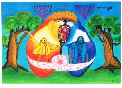 hoofdstuk 11 van de Openbaring ; Gods tempel en de zevende bazuin
