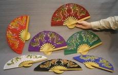 kleurvolle japa waaiers