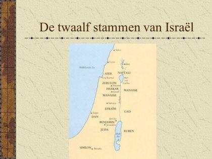 de 12 stammen van Israël