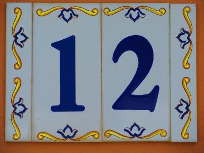 het getal 12 komt 187 keer voor in de Bijbel