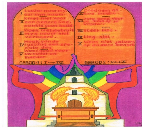 de 10 geboden, de wetten van God