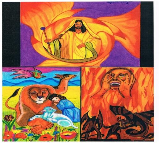 Het oordeel van Christus op zijn witte troon