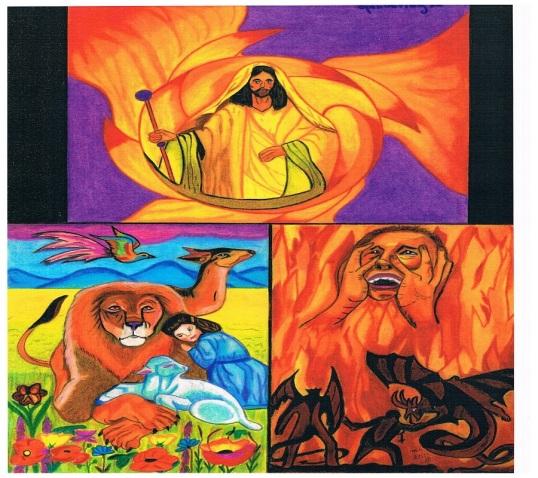Het oordeel van Christus op de witte troon volgens het Nieuwe Testament
