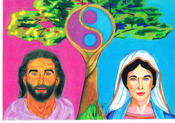 Jezus en Maria, de perfecte Adam en Eva