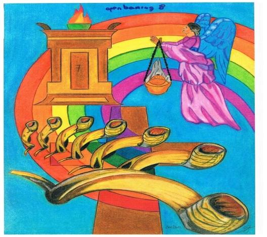 Openbaring hoofdstuk 8 : de zeven bazuinen