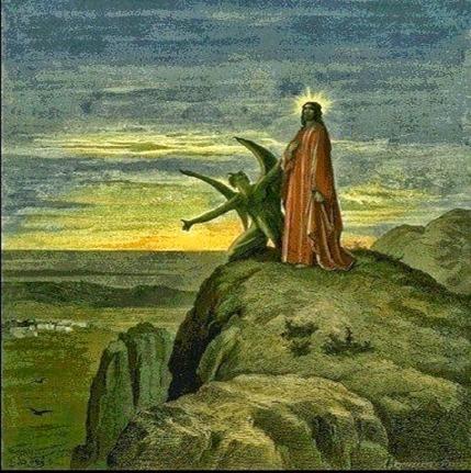 De verzoeking van Jezus door de duivel