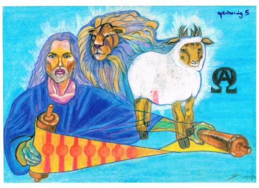 De zeven zegels: Openbaring hoofdstuk 5