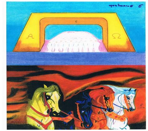 De ruiters van de Apocalyps : the four horseman of the book of Revelation