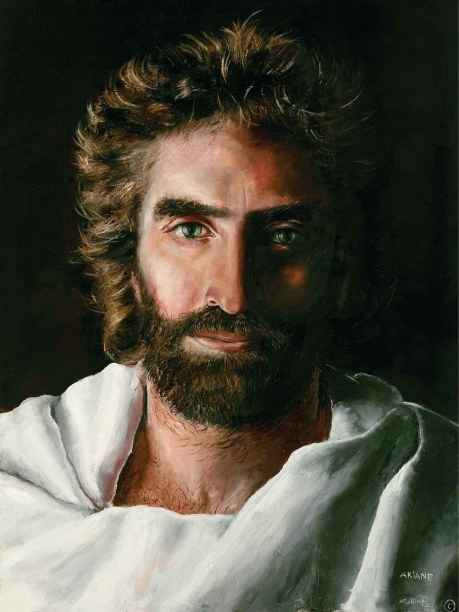 Paint from Jezus Christ Akiane Kramarik