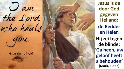 ea4b979ef27ced God openbaart zich doorheen de Bijbel als onze Genezer
